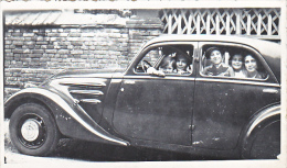 23642 - Photo Automobile Voiture Ancienne - Chalons Sur Marne Photographe Boulve - Enfant