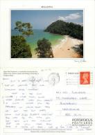 Langkawi Island, Malaysia Postcard Posted 1996 Stamp - Malaysia