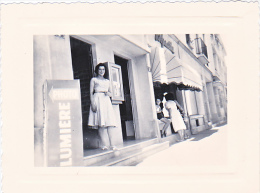 23648 - Photo - Femme Sans Doute Mme Boulve N° 3 Rue Grande Etape? - Chalons Sur Marne  -France -photographe Boulve ? -