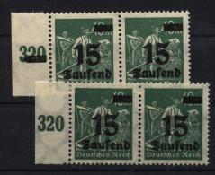 D.R.279a,Summierungszahl Durchbalkt, Nicht Durchbalkt,xx (6220) - Unused Stamps