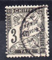 N°12 - 3c Noir - Oblitéré - 1859-1955 Used