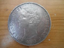 ESPAGNE-5 PESETAS 1876 (76) DE.M - [ 1] …-1931 : Regno