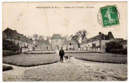 Pontgouin,  Château De La Rivière - La Cour - France