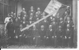Nantes Quartier Doulon 1910-1914 Union Des Travailleurs De France 68ème Section 1carte Photo - Places