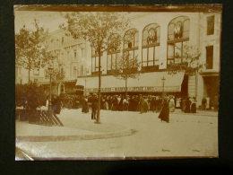 Ref2444 AX109 Photo Animée - L'entrée Des Galeries Modernes - Vers 1900 Paris - Commerce - Tiendas