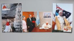 Vatikan 1645/7 Maximumkarte MK/MC, ESST, Papstreisen 2008 - Cartes-Maximum (CM)