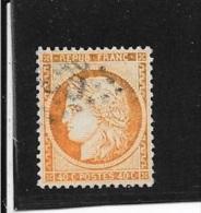 N° 38  FRANCE OBLITERES - Céres 40c Orange  1870 - 1870 Siege Of Paris