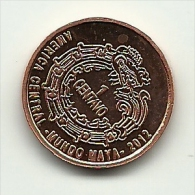 2012 - Maya 1 Centavo, - Altri – America