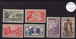 MAURITANIE - YVERT N° 66/71 * - COTE 9 EUR - Mauritanie (1906-1944)