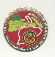 Médaille En Métal - 48e Grand Prix De Belgique De Vitesse Motos - Francorchamps 1975 - Sports