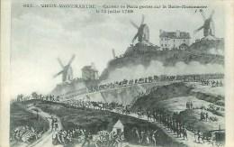 75 PARIS  VIEUX-MONTMARTRE Canons De Paris Portés Sur La Butte Montmartre Len 15 Juillet 1789 - Arrondissement: 18