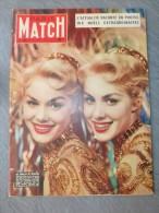 PARIS MATCH N° 301 Janv 1955 Ellen Et Alice Kessler, JUMELLES, NOËL Ref 594 - Informations Générales
