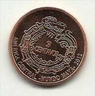 2012 - Maya 3 Centavos, - Altri – America