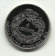 2012 - Maya 4 Centavos, - Monete