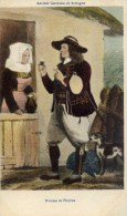 29-PLEYBEN-Anciens Costumes De Bretagne-Homme-couleur - Pleyben