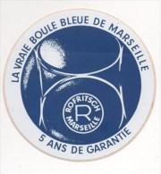 Autocollant - La Vraie Boule Bleue De Marseille - ROFRITSCH MARSEILLE - Pétanque - Autocollants