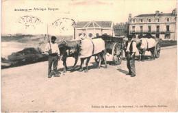 BIARRITZ .... ATTELAGES BASQUES - Biarritz