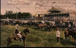 ! Old Postcard Uruguay, Montevideo, Hipodromo Nacional, Pferderennbahn, Pferdewagen, Horse Racetrack - Uruguay