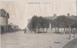 FRANCE - CPA - 78 NEAUPHLE-LE-CHATEAU (Yvelines) Place Mancest - Neauphle Le Chateau