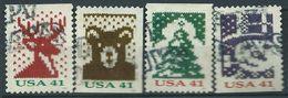 VERINIGTE STAATEN ETATS UNIS USA 2007 Christmas Knits Coils Set Of 4V SC 4211-14 YV 4001A-04A MI 4322-25 SG 4795-98 - Verenigde Staten