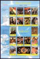MNH NEVIS  #  1186** : MINI SHEET HISTORY ; MILLENNIUM - St.Kitts And Nevis ( 1983-...)