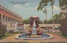 Famous Fountain Of Turtles At Ringling Art Museum Sarasota Flori
