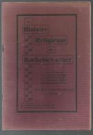 Histoire Religieuse De Rochefort-sur-Mer Du Chamoine LEMONIER De 1931 - Poitou-Charentes