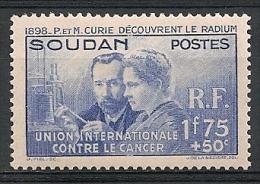 Soudan. 1938. Curie.  N° 99. Neuf * - Sudan (1894-1902)