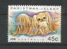 Australien / Christmas Island  1994  Mi.Nr. 393 , Year Of The Dog - Gestempelt / Fine Used / (o) - Christmas Island