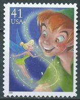 USA 2007 The Art Of Disney Magic: Peter Pan 41c USED SC 4193 YV 3978 MI 4296 SG 4778 - Vereinigte Staaten