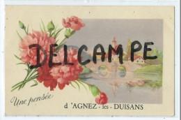 CPA - Une Pensée D'Agnez Les Duisans - Frankrijk