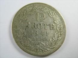 GERMANY STATES BREMEN   12  GROTE 1841   SILVER  RARE   LOT 16 NUM 22 - Taler Et Doppeltaler