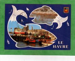 Le Havre La Plage Le Port De Pêche (poissons) - Port