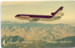 SINGAPORE PHONECARD AIRPLANE -USED - Flugzeuge