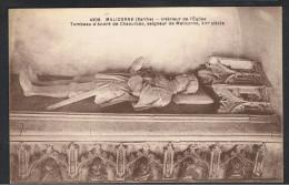 Cpa 72_MALICORNE - Intérieur De L´église - Tombeau D'André De Chaources, Seigneur De Malicorne, XVè Siècle - Malicorne Sur Sarthe