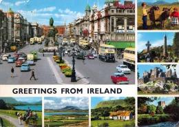 Greetings From IRELAND - Alte Autos, Autobusse, Gel.1977 - Irland