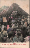 ! Old Postcard Kongo, Rei Do Congo, König, King, Roi, Africa, Afrika, Roi - Belgisch-Kongo - Sonstige