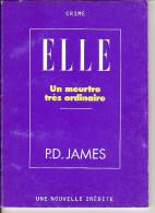 """MINI-LIVRE UN MEURTRE TRES ORDINAIRE Par P.D. JAMES Imprimé 1997 / édité Par """"ELLE""""  /BON ETAT - Livres, BD, Revues"""