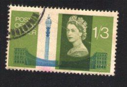 Royaume Uni 1965 Oblitération Ronde Used Stamp Tour Tower And Nash Terrace Regent's Park - 1952-.... (Elizabeth II)