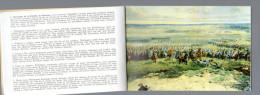 WATERLOO  Panorama  sous forme de gravures comment�es de la bataille de Waterloo dans un carnet  12 gravures de MOULIN L