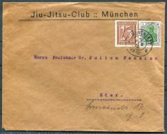 1922 Munchen Jiu-Jitsu Club Brief / Munich Martial Arts Cover - Allemagne