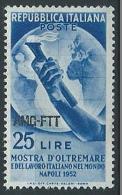 1952 TRIESTE A OLTREMARE MNH ** - ED027 - Ungebraucht