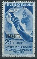 1952 TRIESTE A OLTREMARE MNH ** - ED027-3 - Ungebraucht