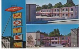 Caldwell Idaho, Sundowner Motel, Lodging, C1960s Vintage Postcard - Caldwell