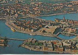 Suède - Stockholm - Très Belle Vue Aérienne De La Ville - Suède
