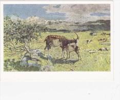 Chèvre - Ziegen - Giovanni Segantini - Animaux & Faune