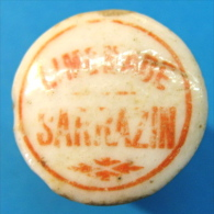BOUCHON EN PORCELAINE LIMONADE SARRAZIN - Soda