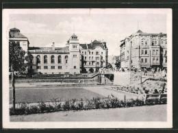 CPA Bromberg / Bydgoszcz, Vue De Theaterplatz - Westpreussen