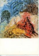 Marc Chagall Message Biblique N°7  Le Sacrifice D´Isaac (art Peinture Religion) Nice Musée National : - Peintures & Tableaux