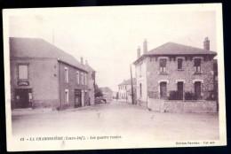 Cpa Du 44 La Chabossière Les Quatre Routes  ..  Couéron  ..  Saint Etienne De Montluc  Nantes AVR19 - Saint Etienne De Montluc